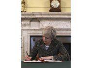 es oficial: gran bretana pide el divorcio a la union europea