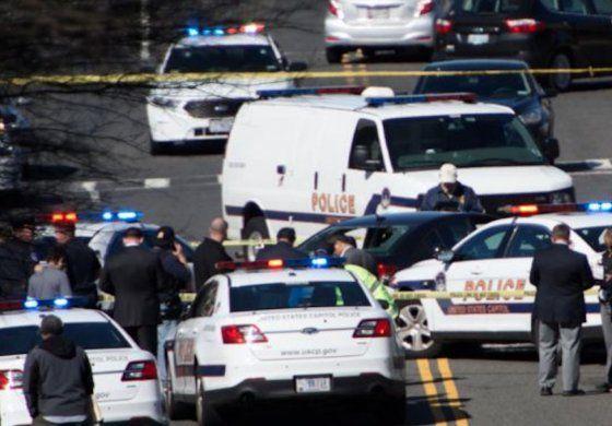 Conductor intentó atropellar a policías cerca del Capitolio en Washington