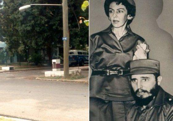 La calle de Celia y Fidel está abierta