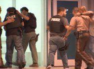 cuatro arrestos en el tiroteo que dejo a dos policias heridos en liberty city