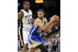 warriors remontan y doblegan a spurs