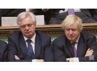 el negociador britanico del brexit niega chantaje a la ue