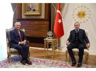 el secretario de estado eeuu se reune con el gobierno turco
