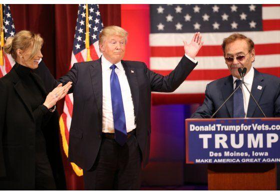 Trump y Ruffin,  cena de viejos compadres en la Casa Blanca