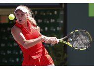 wozniacki avanza a la final del abierto de miami