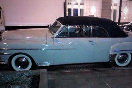 un filantropo de eeuu regala un auto desoto del 40 a eusebio leal