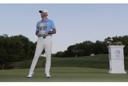 dustin johnson, 1ro del mundo, quiere brillar en augusta