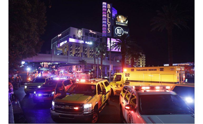 Las Vegas: Se incendia techo de centro comercial de Bellagio