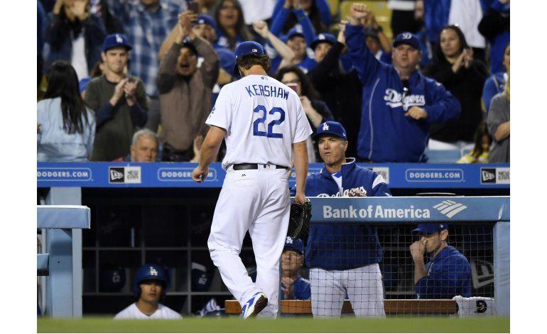 Kershaw gana el duelo con Greinke en triunfo 7-1 de Dodgers