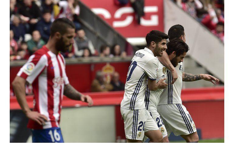 Madrid, Atlético y Barsa ganan en liga pensando en Champions