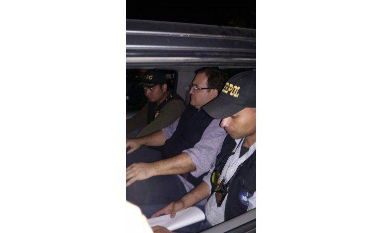 Detienen en Guatemala al exgobernador mexicano Javier Duarte