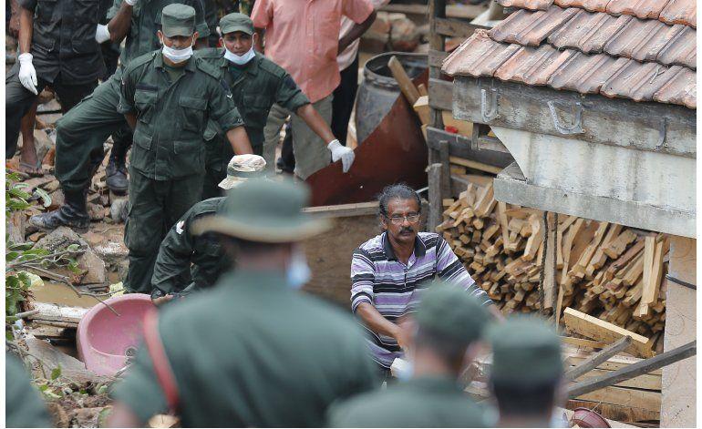 Suben a 22 los muertos por colapso en vertedero en Sri Lanka