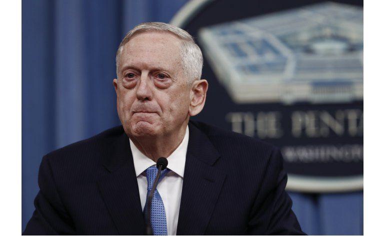 Jefe del Pentágono: La conducta de Norcorea es irresponsable