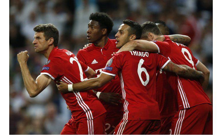 Real Madrid a semis tras doblegar a Bayern en prórroga
