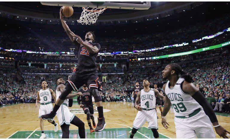Bulls aplastan a Celtics y toman ventaja sorpresiva de 2-0