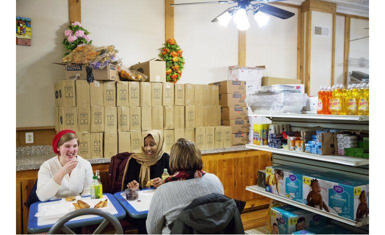 Comunidad tolerante con refugiados vota por Trump