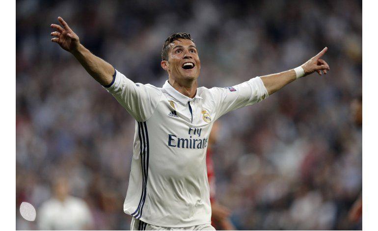 Ronaldo se luce en la Liga de Campeones