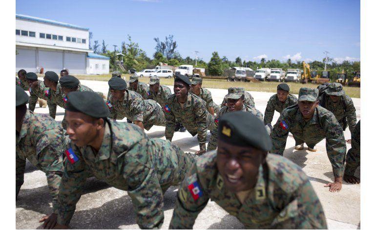 Con la partida de la UN, Haití reviviría su ejército