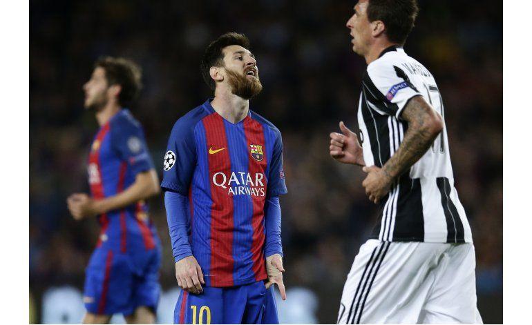 Juventus empata sin goles en Barcelona y pasa a semifinales