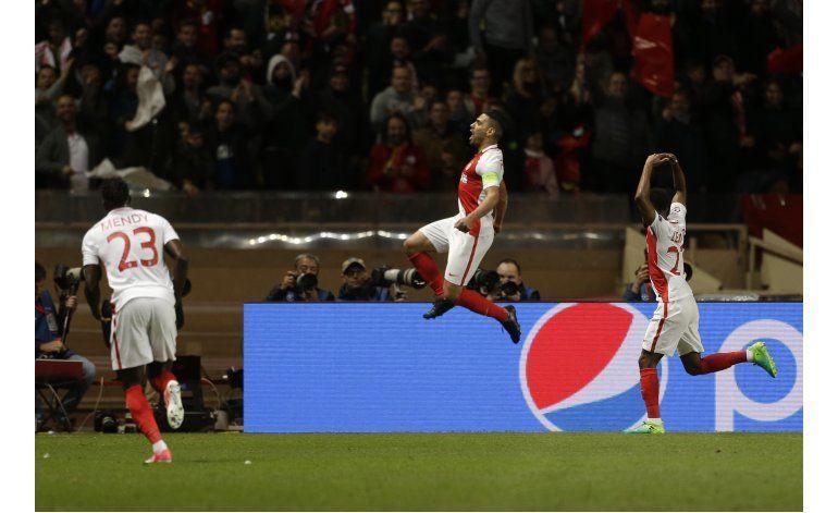 Mónaco elimina a Dortmund y se mete a semis de Champions