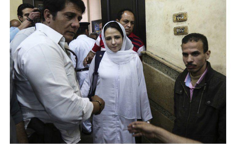 Liberan en Egipto a activista acusada de abuso sexual