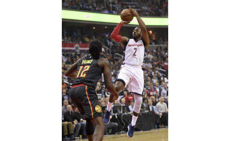 Beal y Wall lideran triunfo de Wizards ante Hawks