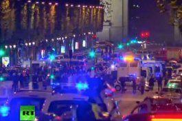tiroteo en paris: un policia muerto, atacante abatido