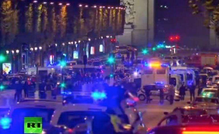 Tiroteo en París: un policía muerto, atacante abatido