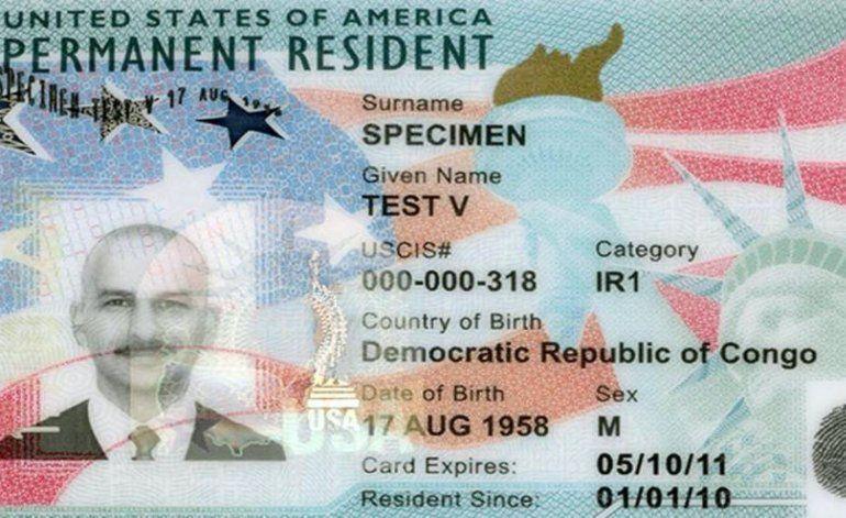 Cambian diseño de tarjeta green card y permiso de trabajo