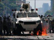 vuelven a reprimir la manifestacion nacional de la oposicion en venezuela