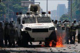 arrestos y heridos dejo la nueva jornada de protestas en venezuela