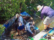 restos de embarcaciones de cubanos son sacadas de los cayos de florida