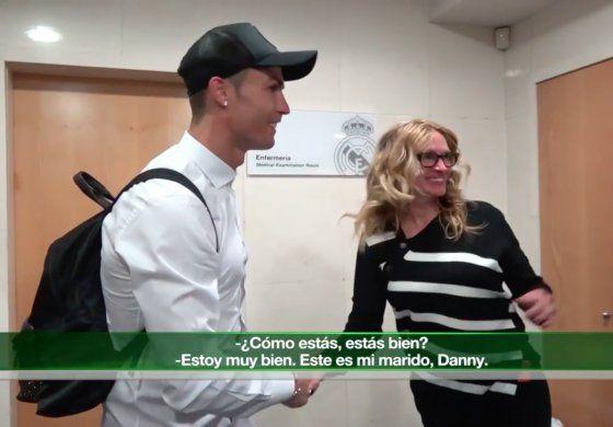 El emocionante encuentro entre Julia Robert y Cristiano Ronaldo