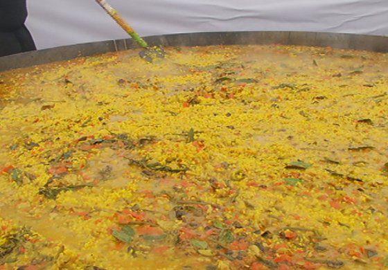 Se cocinó en Miami la paella más grande de los Estados Unidos