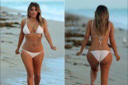 las fotos de kim kardashian sin photoshop desatan las criticas