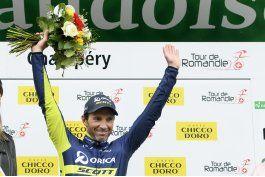 albasini gana primera etapa del tour de romandia