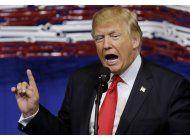 exageraciones, incoherencias: el estilo de hablar de trump