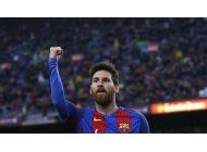 barcelona y madrid golean con dobletes de messi y james