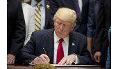 Trump dice que no sacará a EEUU del TLCAN