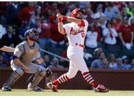 con grand slam de carpenter, cardenales vencen a azulejos