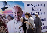 el papa busca en egipto el rechazo a la violencia religiosa