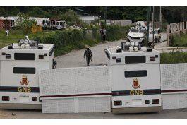 venezuela: marcha en reclamo de libertad de presos politicos