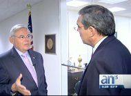 entrevista con el senador bob menendez