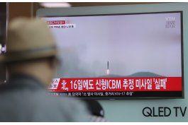 pyongyang hace una prueba de misil tras faltar a reunion onu