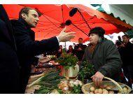 el centrista macron busca el voto rural en francia