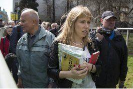 manifestantes piden a putin no se presente a reeleccion