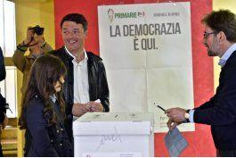 democratas italianos eligen lider; renzi favorito para ganar