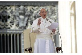papa pide evitar violencia y respetar los ddhh en venezuela