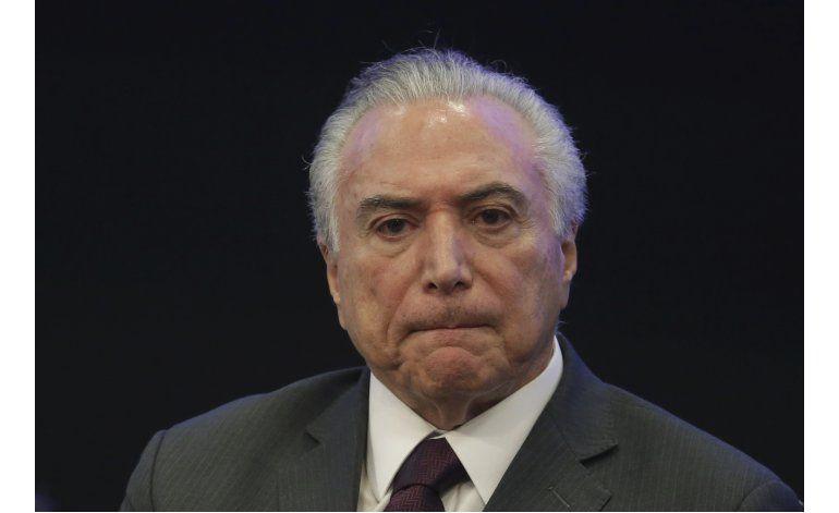 Con optimismo, Temer cumple un año como presidente de Brasil