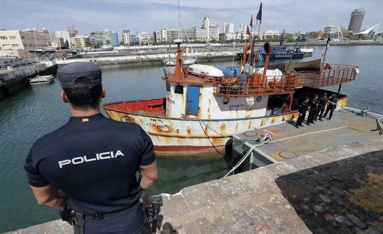 España intercepta barco venezolano con 2,500 kilos de cocaína